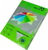 Цветная бумага  А4 80г/м2 Spectra Color Cyber HP Green 321 (зелен.)(100)