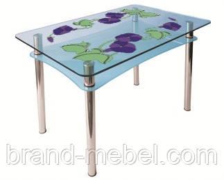 Стол стеклянный Абрис покраска