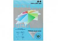 Цветная бумага  А4 80г/м2 Spectra Color Cyber HP Blue180 (голубой) (100)