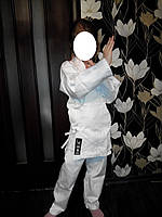 Кимоно карате белое MATSA плотность 240