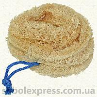 Мочалка люффа круглая на верёвочке
