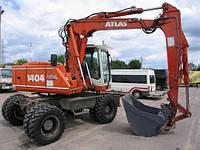 Аренда экскаватора Atlas 1404 LC в Днепропетровске