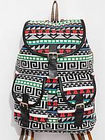 Рюкзак абстракция серый, фото 1