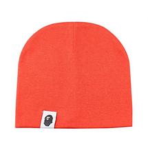 Весеняя хлопковая шапка  Варе Темно-оранжевый