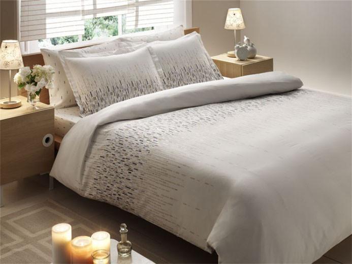 Подростковый постельный комплект Buena (Серый), TAC
