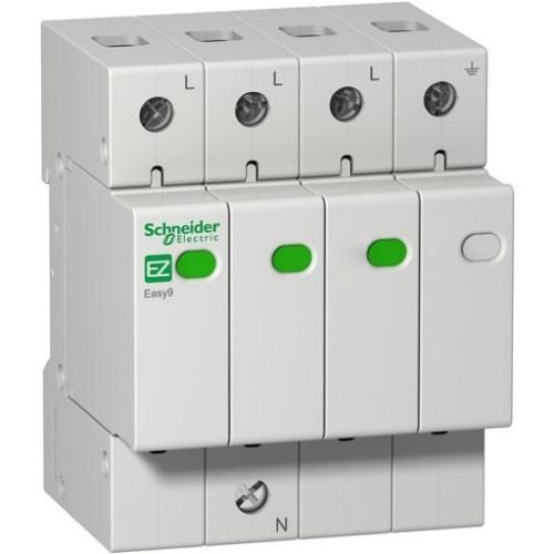 Устройство защиты от импульсных перенапряжений Easy9 3P+N, 20кA/10кА /1,3кВ