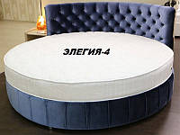 Кровать круглая Элегия-4 (Мебель-Плюс TM)