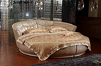 Кровать круглая Элегия-7 (Мебель-Плюс TM)