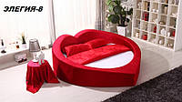 Кровать круглая Элегия-8 (Мебель-Плюс TM)