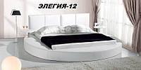 Кровать круглая Элегия-12 (Мебель-Плюс TM)