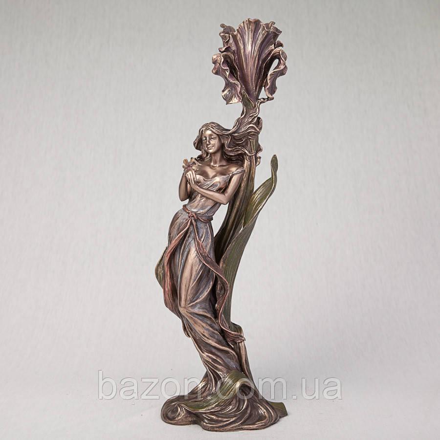 """Підсвічник Veronese """"Дівчина з метеликом"""""""