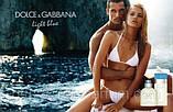 Женская туалетная вода Dolce&Gabbana Light Blue 100 мл. АОЭ (тестер с крышечкой) (реплика), фото 4