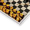 Карманные шахматы магнитные дорожные MPJS3009 в пластиковой коробке , фото 4