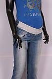 Джинсы бойфренды  для беременных с потертостями. размеры s- xl., фото 4