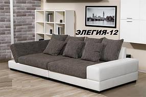 Диван прямой дизайнерский под заказ Элегия-12 (Мебель-Плюс TM)