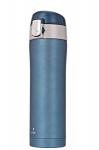 Термос 420 мл голубой (Польша), фото 1