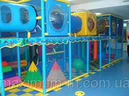 Аквариум - каркасный игровой лабиринт для деток.