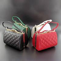 Модельная сумочка черная/красная/зеленая Rose Heart, фото 1