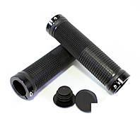 Грипсы на руль SPELLI SBG-660-Lock, черные