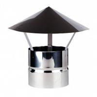 Зонт воздуховода оцинкованный/полимерный