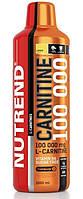 Жиросжигатели карнитины Nutrend Сarnitine 100000 1000ml