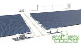 Промышленная сетевая солнечная станция под Зеленый тариф мощностью = 50 кВт/ч