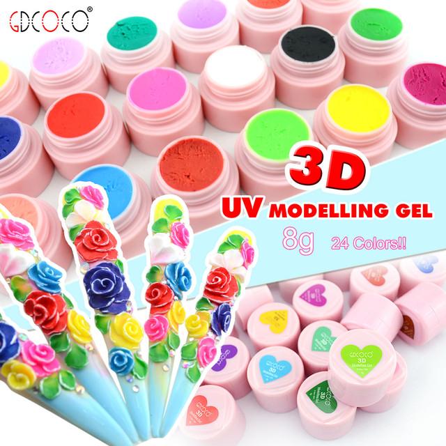 3D гель пластилин Coco