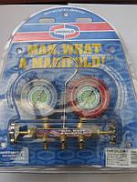 Манометрический коллектор (R-12,22,134а) + 3 шланга 90 см США