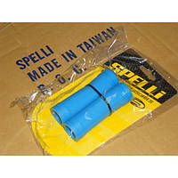 Грипсы на руль SPELLI SBG-660L 128мм, голубые