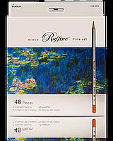 Набор цветных карандашей 48 цветов Марко raffaine