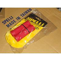 Грипсы на руль SPELLI SBG-660L 128мм, красные