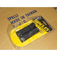 Грипсы на руль SPELLI SBG-660L 128мм, черные
