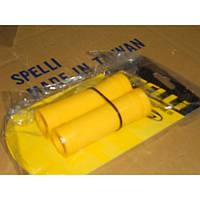 Грипсы на руль SPELLI SBG-660S 90мм, желтые