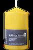 Vollmar Edelstumpen gelb - Свеча жёлтого цвета высота: около 140 мм, диаметры около 80 мм, 1 шт