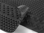 Шиповидная мембрана ТЕФОНД для защиты стен фундаментов, гидроизоляции, дренажа