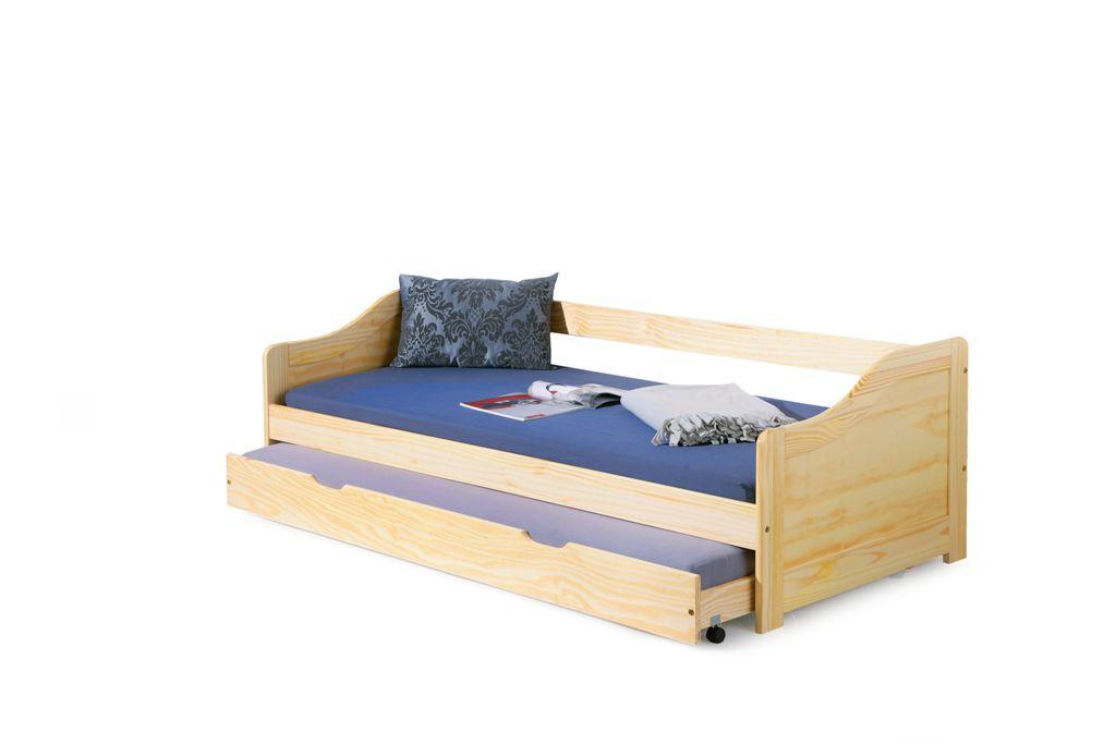 Кровать LAURA 90x200 сосна Halmar