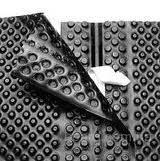 Шиповидная мембрана ТЕФОНД ПЛЮС для защиты стен фундаментов, гидроизоляции, дренажа