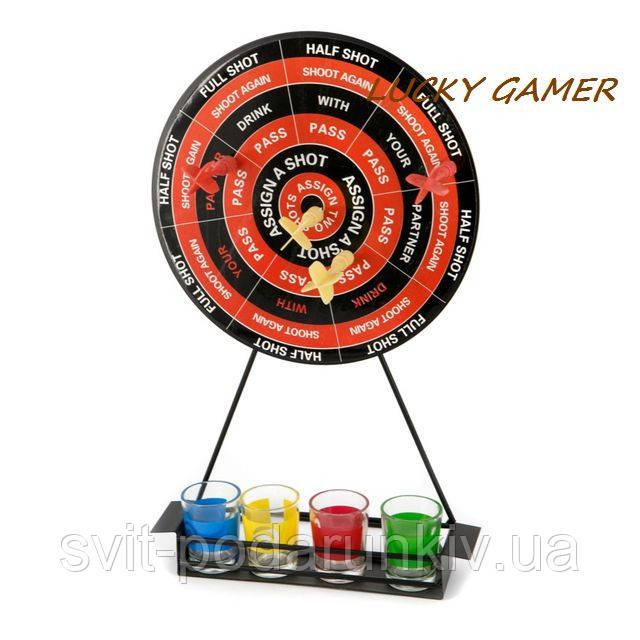 Алкогольный дартс со стопками магнитный игра для алко вечеринок в компании SRS020