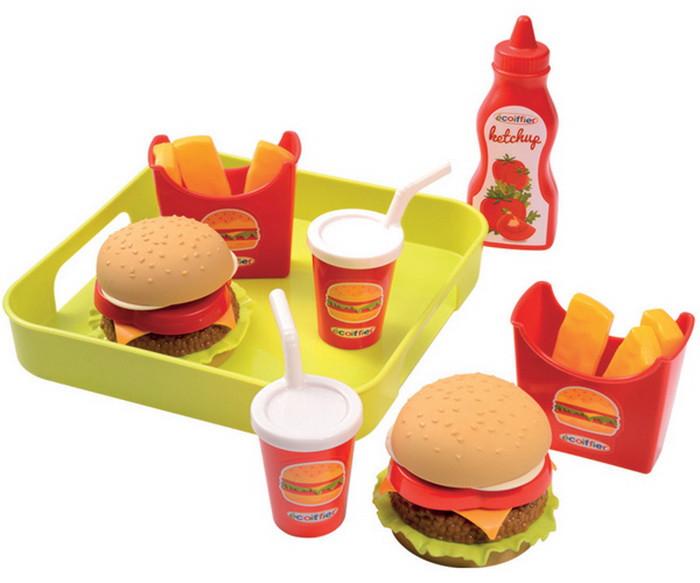 Игровой набор продуктов Гамбургер Ecoiffier 957