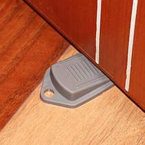 Блокиратор дверей напольный Серый