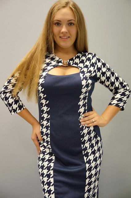 Женские платья размеров 50-56