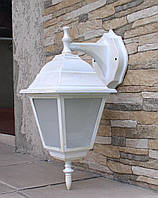 Светильник НБУ 04 Алюминиевый НС04 (бра верх-низ) матовое стекло белый-золото