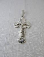 Крестик серебряный 925* с распятием