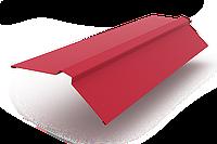 Конек фигурный оцинкованный с полимерным покрытием