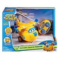 Трансформер Спасатель Донни на радиоуправлении (Свет и звук) Супер крылья- Super Wings, фото 1