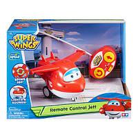 Джет на р/у Jett Super Wings супер крылья (свет, звук)