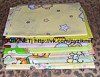 Комплект нежные ситцевые пеленки (4 шт), фото 1