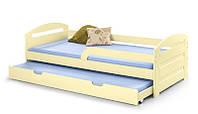 Кровать NATALIE 90x200 ванильный Halmar