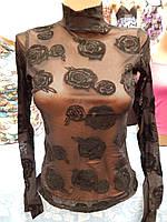 Кофточка-сетка женская размер 44-46, 46-8,48-50