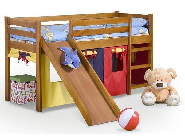 Кровать NEO PLUS 80x190 ольха Halmar